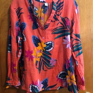 Old Navy Tropical Long Sleeve Shirt